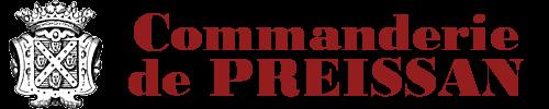 Logo de la Commanderie de Preïssan - Vin de Pays d'Oc