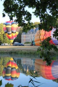 Commanderie de Preïssan et le Canal du Midi à Ouveillan dans l'Aude
